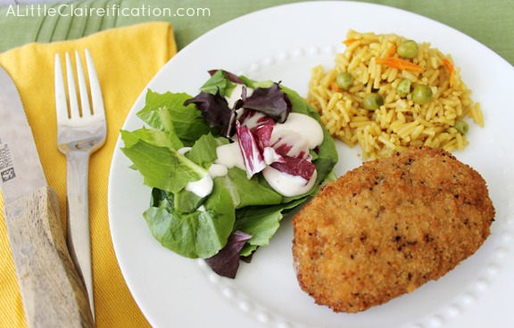 What side dishes are good with Chicken Cordon Bleu?