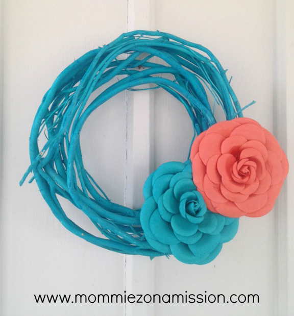 DIY Easy DIY Spring Wreath