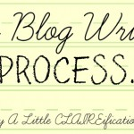 My Blog Writing Process | A Blog Tour