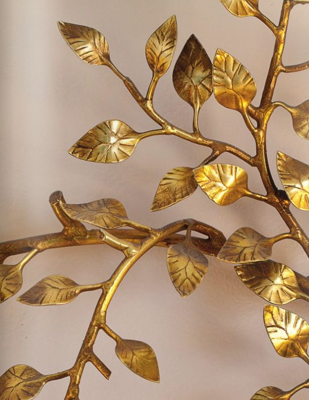 diy gold home decor at alittleclaireificationcom gilded goldleaf alittleclaire - Gold Home Decor