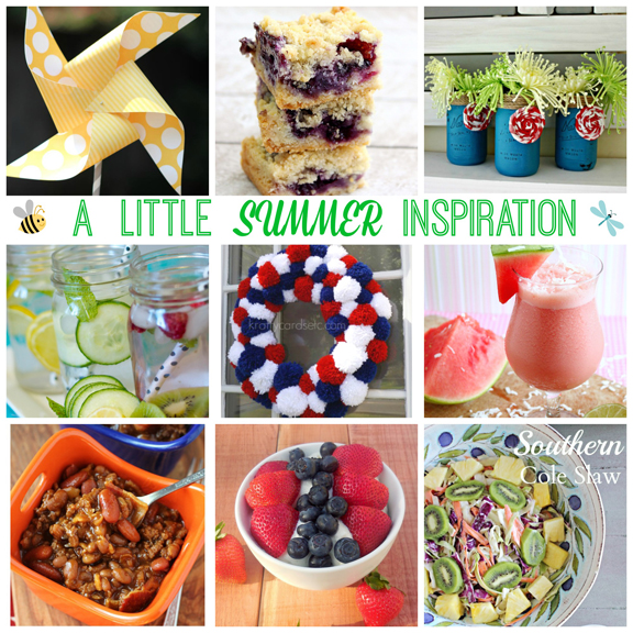 Summer Inspired Crafts and Recipes