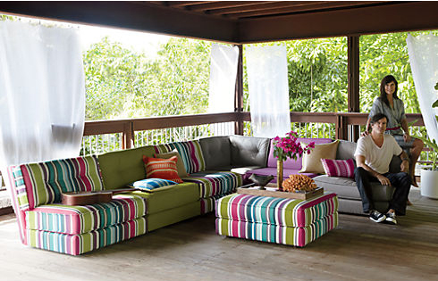 botao-stripe-sectional-ottoman