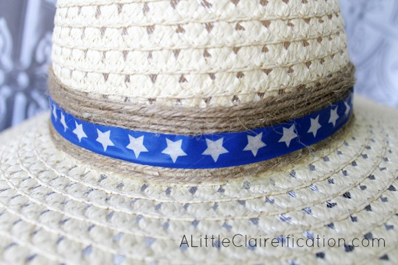 4th Of July Dollar Store Sun Hat