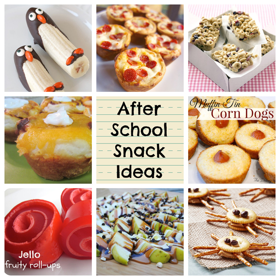 21 After School Snacks at ALittleCLAIREification.com