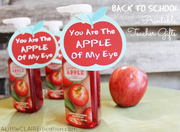 Apple Of My Eye - Free Back to School Printables