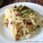 Bacon and Swiss Hash Brown Overnight Casserole | Holiday Breakfast Ideas