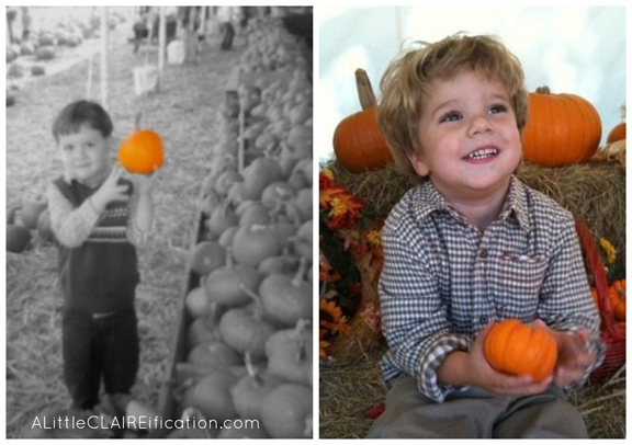 Boys In Pumpkin Patch 2006