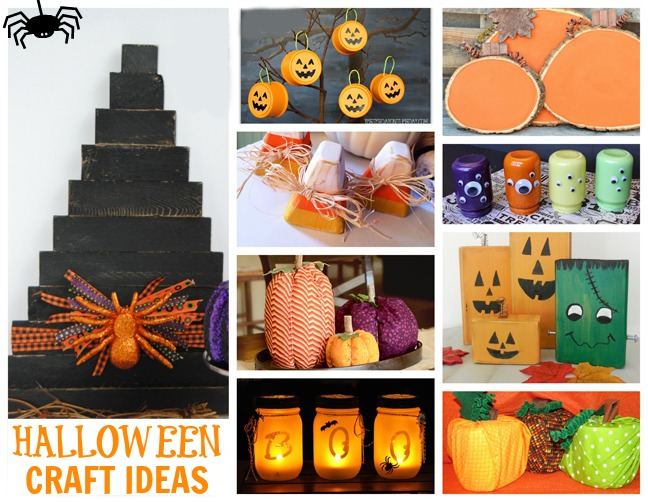 DIY Halloween Craft Ideas  - so much fun in one place!