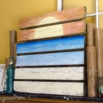 DIY Ocean Sunset Painted Pallet Art & More | Best Of The Weekend Party