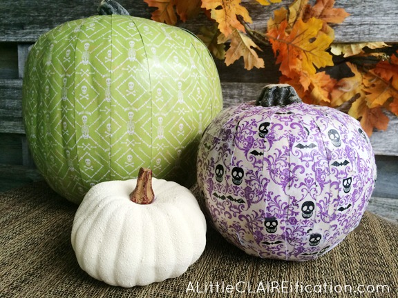 Decorative Scrapbook Paper Pumpkins PM6