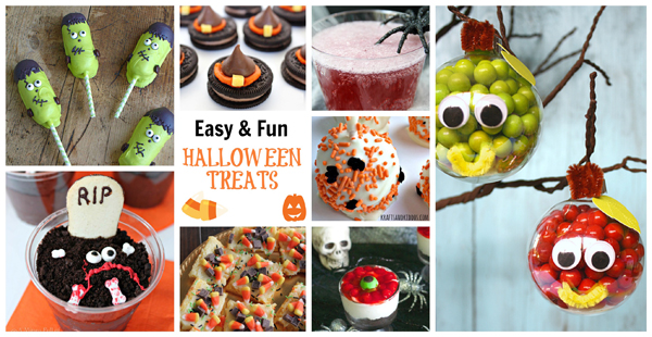 Easy & Fun Halloween Treats