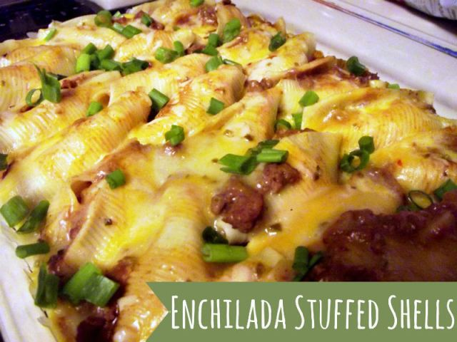 Enchilada Stuffed Shells and more Best Of The Weekend Party with ALittleClaireification.com #linky #party #enchiladas @ALittleClaire