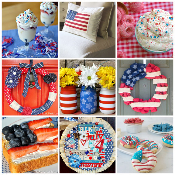 Fabulous 4th Of July Recipes & Crafts