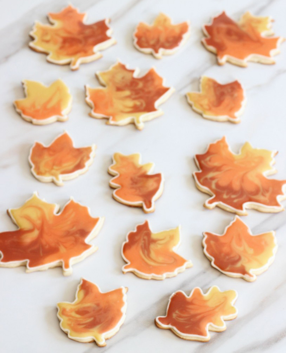 Decorative Fall Cookies