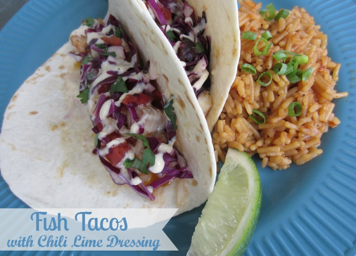 Fish Tacos by ALittleClaireification.com #recipes #seafood #foodie @alittleclaire