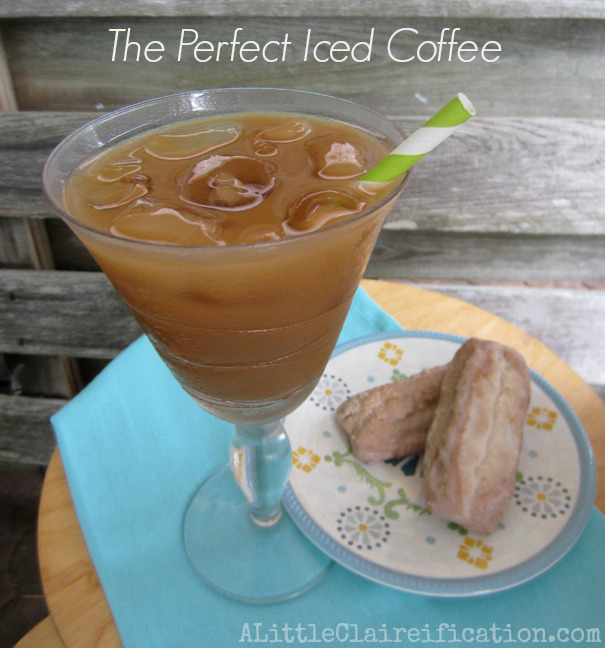 The Perfect Iced Coffee at ALittleClaireification #HotIced #Giveaway #Coffee @ALittleClaire