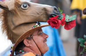 Kentucky Derby Horse Hat