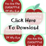 Snapple Of My Eye Printable Teacher Gift | $500 Cash Giveaway