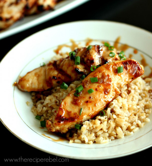 Sweet & Spicy Coconut Grilled Chicken