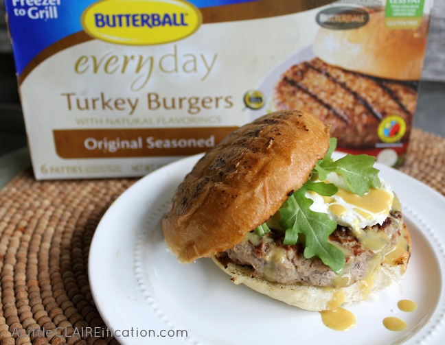 Turkey Burgers With Goat Cheese & Honey Mustard - A Little ...
