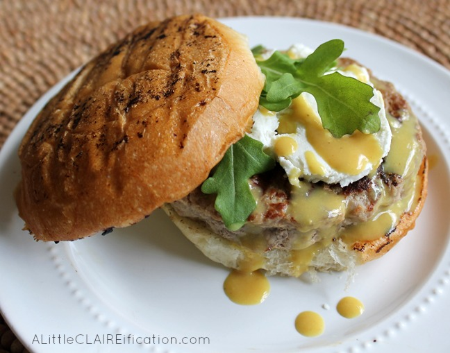 mustard turkey burgers with avocado parmesan and mustard dill turkey ...