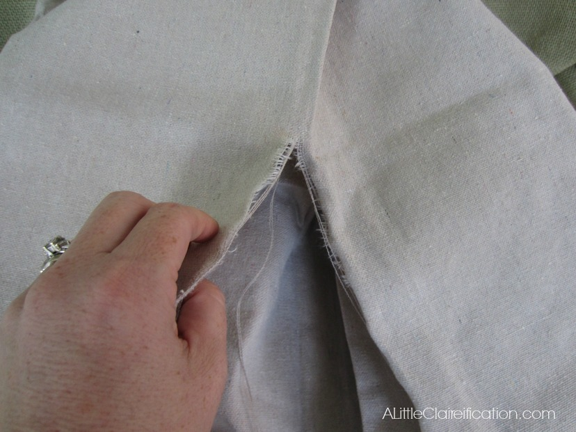 Diy Beach Inspired Patio Curtains From A Canvas Drop Cloth
