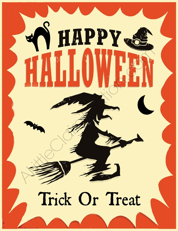 photo relating to Free Halloween Printable known as Enjoyable No cost Halloween Printables - A Minor Claireification