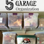 Five Tips For Garage Organization