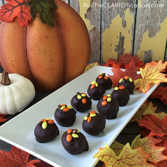 Pumpkin Spice Oreo Cookie Balls PM8