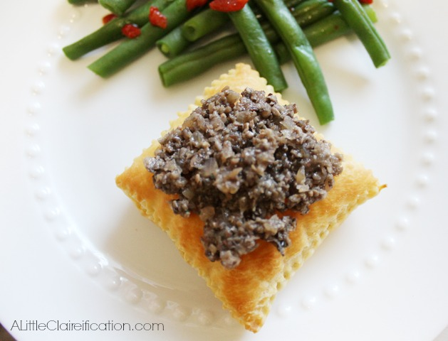 Deconstructed Beef Wellington with ALittleClaireification.com #recipes #beef