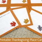 Free Printable Thanksgiving Place Cards | Thanksgiving Traditions