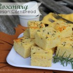 Rosemary Parmesan Cornbread | Thanksgiving Side Dishes
