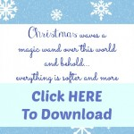21 FREE Printables for December