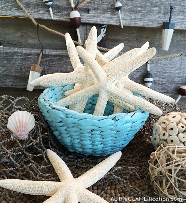 Beach Themed Centerpiece - - Styled x3