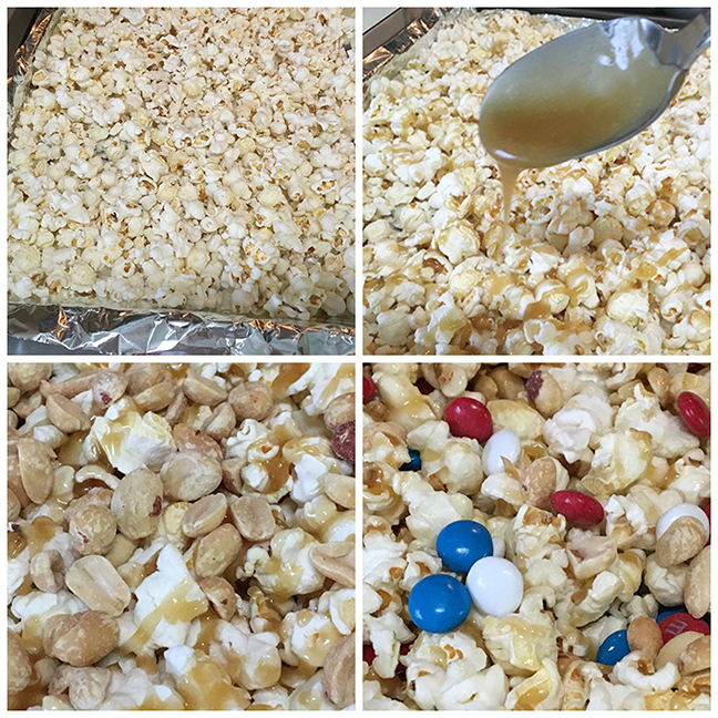 4th Of July Sweet and Salty Popcorn Treats 3