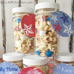 4th of July Sweet and Salty Popcorn Treats