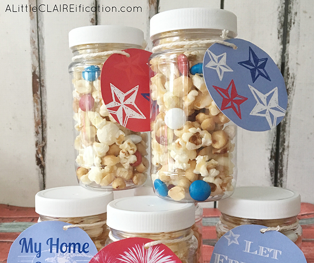 4th Of July Sweet and Salty Popcorn Treats 4