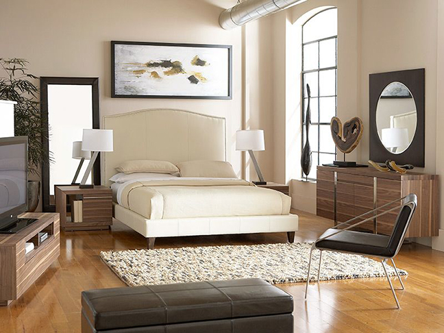 CORT Furniture Rental - Lisa King Bedroom