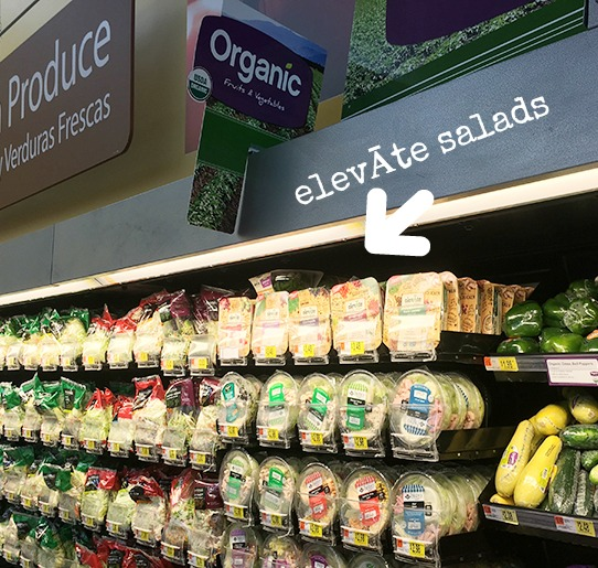 elevAte salads at Walmart