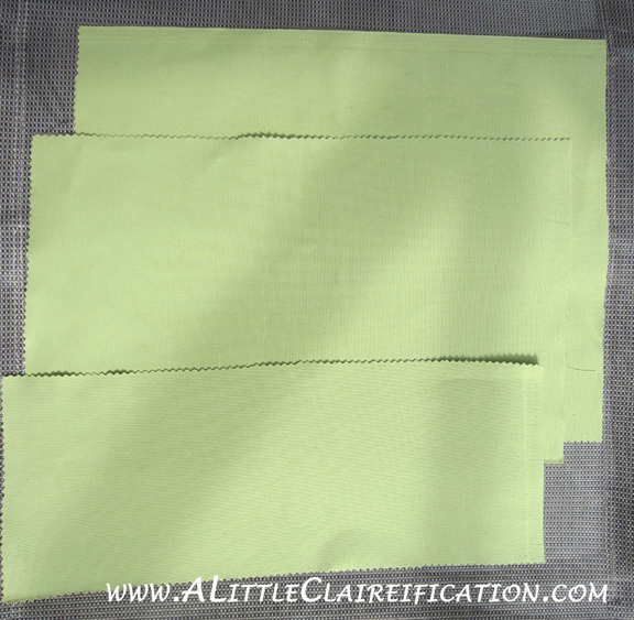 St. Patricks Day Pillow with ALittleClaireification.com #stpattysday #Shamrock #pillow #craft