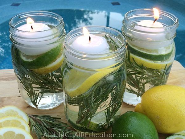 Diy Summer Mason Jar Luminaries Summer In Jars A