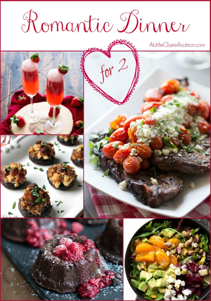 Dinner For 2 Everything From Tails To Dessert The Perfect Meal Alittleclaireification