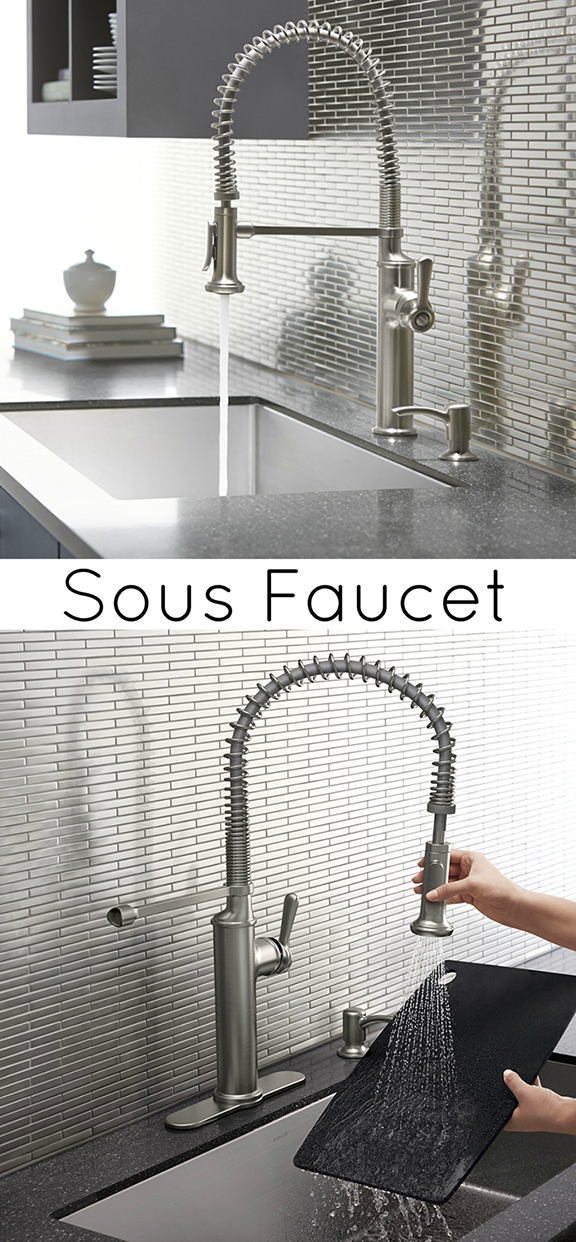 Kitchen Faucet Sous By Kohler At Home Depot