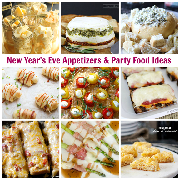 New Year S Eve Etizers Party Food Ideas A Little Claireification