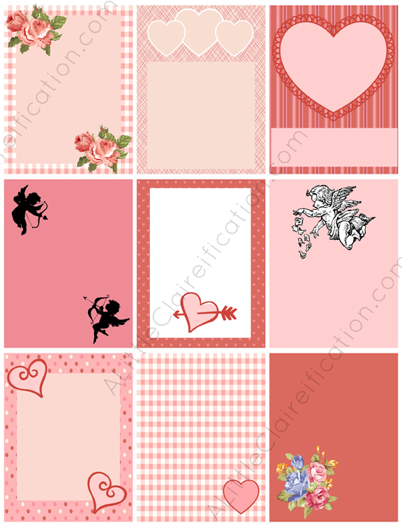 It is a photo of Free Printable Valentine Tags with pretzel