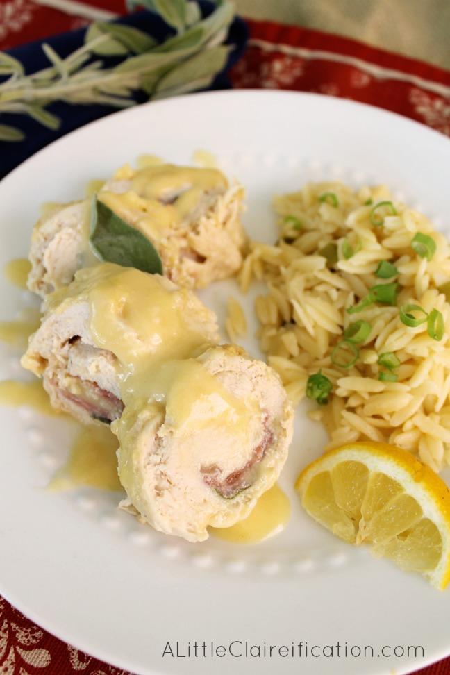 Crockpot Chicken Saltimbocca