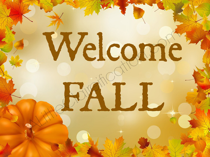 Welcome Fall 21 Free Printables For September A Little Claireification