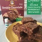 Easy Organic Chocolate Peppermint Brownies